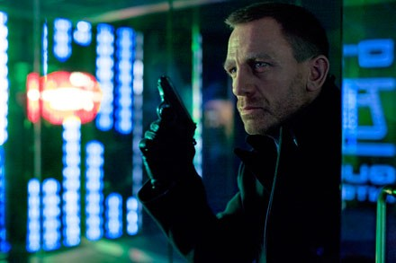 Bond holds the not-yet-fallen sky hostage