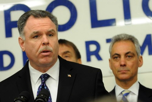 Both Mayor Rahm Emanuel and police Superintendent Garry McCarthy blame weak gun laws for recurring violence in Chicago.