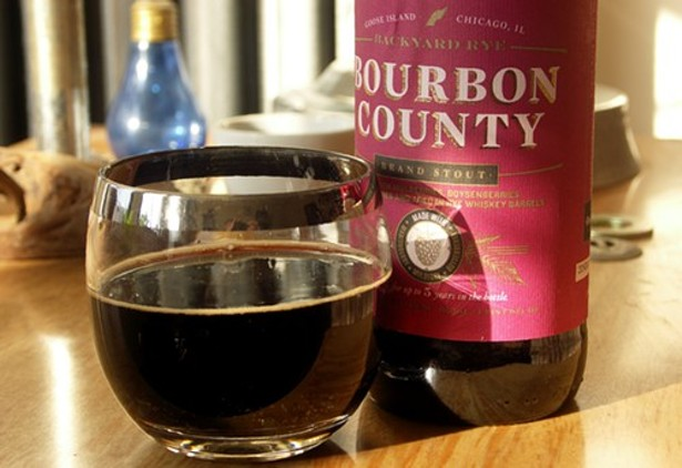Bourbon County Backyard Rye brace yourselves: here come goose island's 2013 bourbon county
