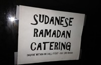 Break the fast at the city's only Sudanese restaurant