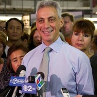 Breaking News: Mayor Rahm returns to the Democratic Party!
