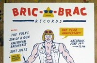 Bric-a-Brac turns one this weekend