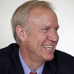 Bruce Rauner got the Trib's endorsement.