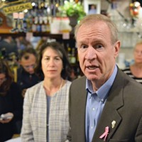 Bruce Rauner is a 'successful businessman' why exactly?