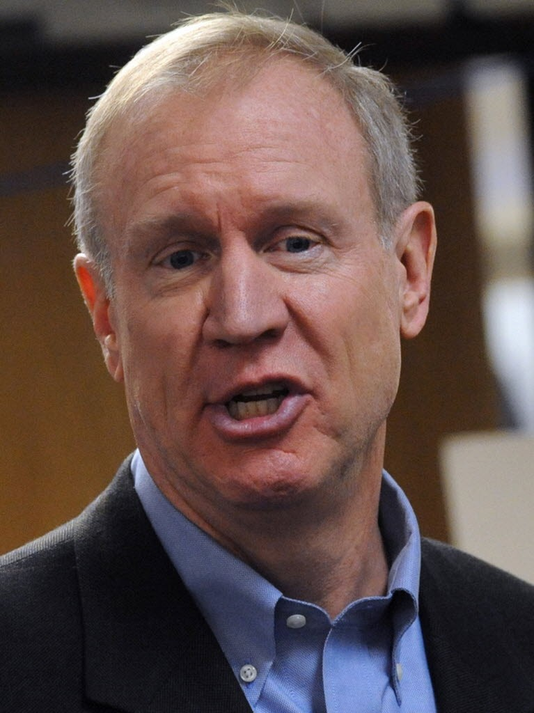 Bruce Rauner wants to get rid of duplicitous teacher union bosses and the knuckleheads in Springfield