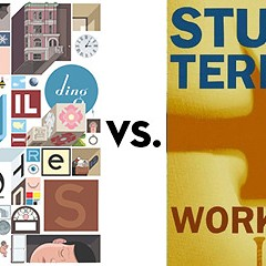 Building Stories vs. Working: Greatest Chicago Book Tournament, round one