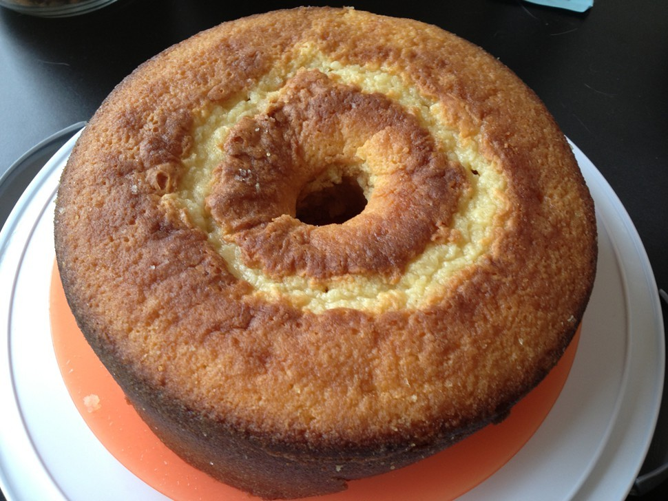 Buttermilk lemon (upside down) cake