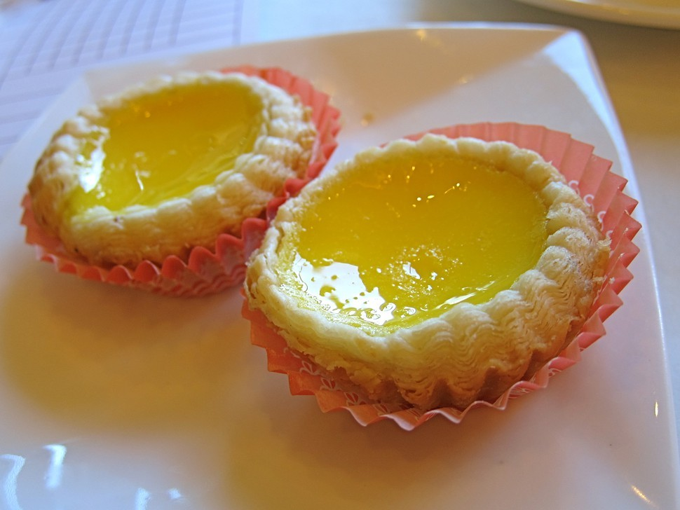 Cais baked egg tarts