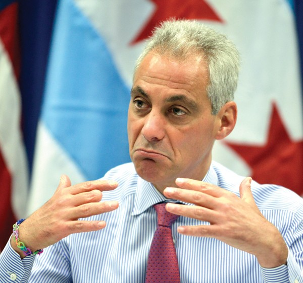 Campaign finance rules are broad enough that Mayor Rahm Emanuel is allowed to receive contributions from firms with business ties to the city.