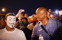 On racial upheaval in Saint Louis—or at least Ferguson