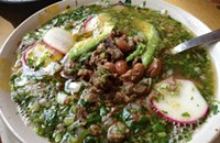 One Bite: The meaty <i>carne en su jugo</i> at Taqueria Los Gallos #2