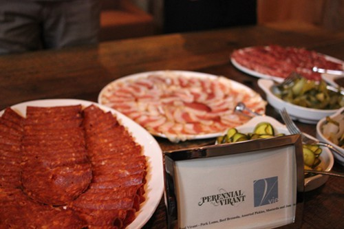 Charcuterie from Paul Virant.