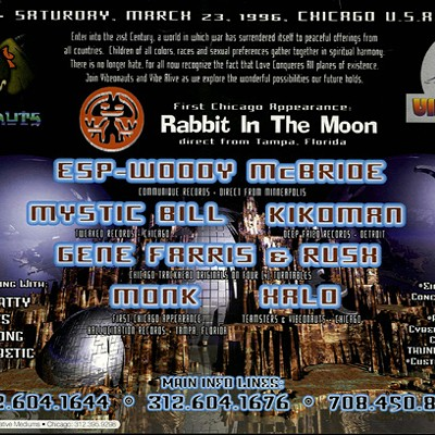 Chicago House Music: Rave Archive flyers
