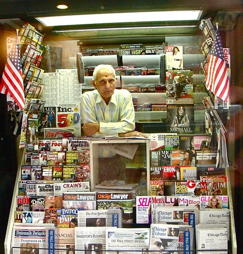 chicago newsstand
