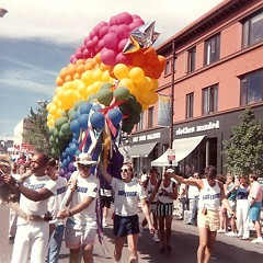 Chicago Pride Parade circa 1990.