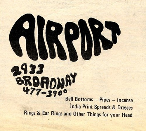 Chicago Reader @ Forty ads from the past: Airport, 2933 N. Broadway