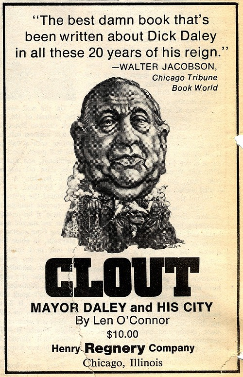 Chicago Reader @ Forty ads from the past: Clout