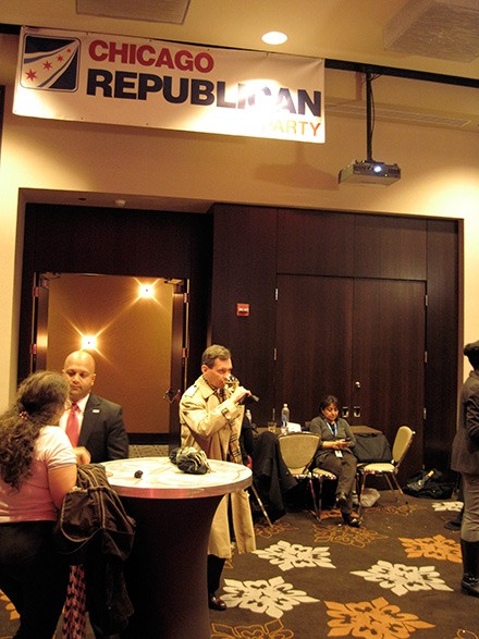 Chicago Republicans during Obama election