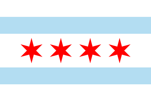 Chicagos flag will still have four stars
