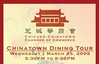Chinatown Dining Tour tonight