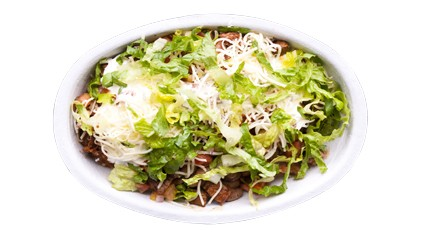 Chipotle's burrito bowl