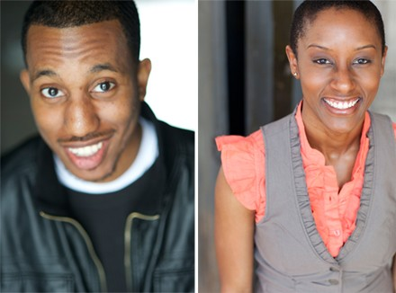 Chris Redd and Celeste Cooper