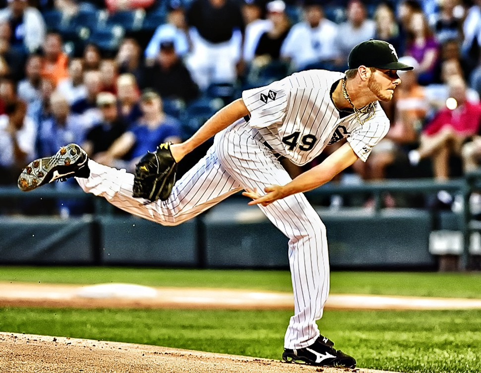 Chris Sale won his 16th Saturday, in spite of some ninth-inning shakes from closer Addison Reed.