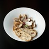 Clams with chorizo and absinthe