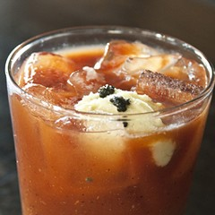 Cocktail Challenge: muddled caviar