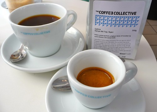 Coffee Collective in Copenhagen: one of the best rosters anywhere