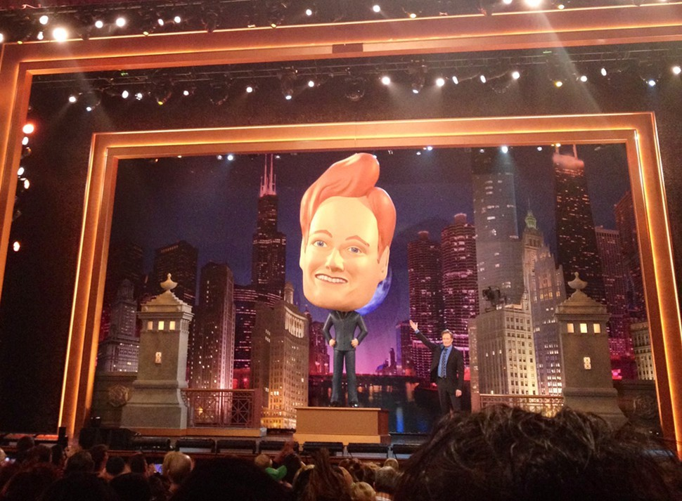 Conan OBrien Chicago bobblehead just for laughs