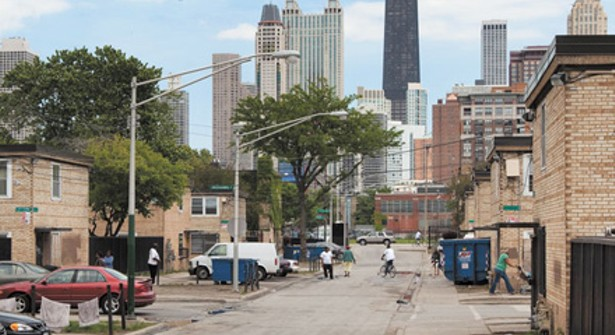 Concentrated Poverty And Homicide In Chicago Bleader