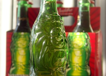 Should you buy the beer in the green Buddha bottles?