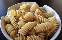 Cooking with pasta from Rockford: Valentino's fusilli gigante