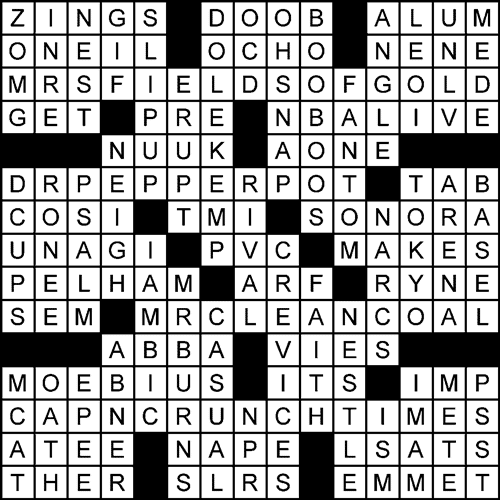 Corporate Diversity Inkwell crossword puzzle solution