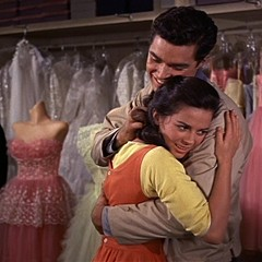 Crepe, silk, cotton, and a couple of actors in West Side Story.