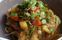 One bite: Ajida's curry <em>age mono</em> ramen