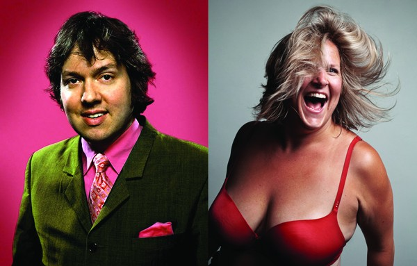 Dave Hill and Bridget Everett