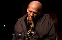 Saxophonist Dave Liebman and jazz-tango bassist Pablo Aslan in Chicago