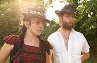"The beauty of singer Dawn McCarthy in Faun Fables and with Bonnie ""Prince"" Billy"