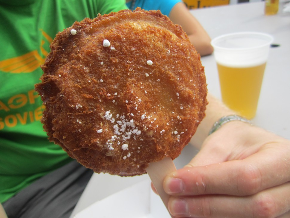 deep fried PB&J, Wiscosin State Fair