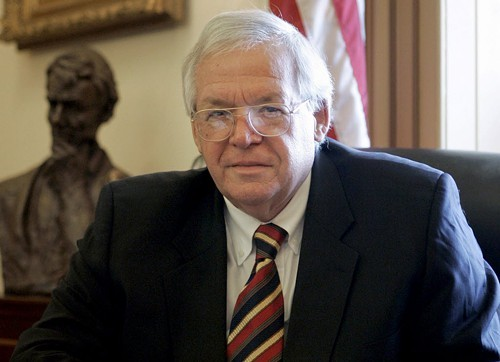 Dennis Hastert, pictured in 2007