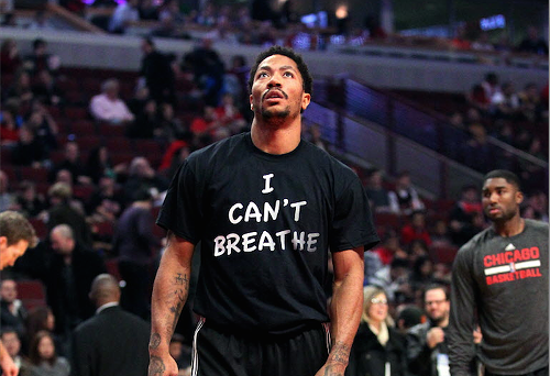 Derrick Rose at the United Center on Saturday night