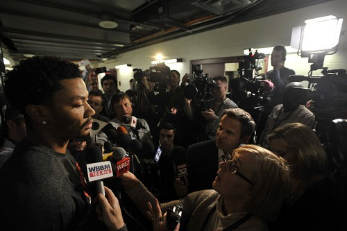 Do Chicagos sports reporters really care about Derrick Rose?