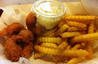 Five-dollar* lunches: Fried and filling things at Snappy's Shrimp House