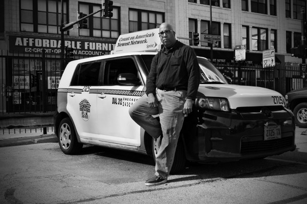 Driver and filmmaker Eric P. Martin considered becoming an UberX driver. - ANDREA BAUER