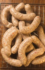 E & P roasted-red-pepper-and-tesa sausage