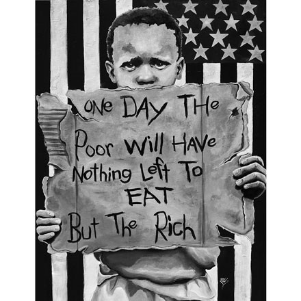 Eat the Rich by Zeph Farmby