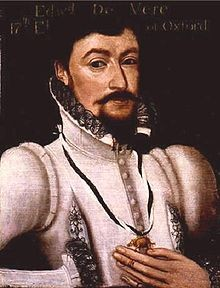 Edward de Vere, 17th Earl of Oxford and Bard of Avon