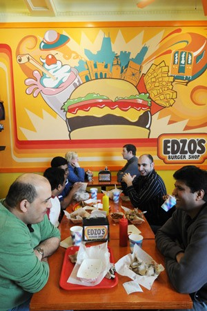 Edzo's Burger Shop is to burgers as Hot Doug's is to encased meat. Sorta.